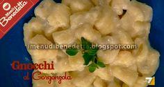 Gnocchi al Gorgonzola di Benedetta Parodi