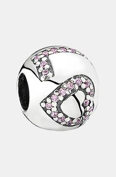 PANDORA 'Surround by Love' Bead Charm available at #Nordstrom