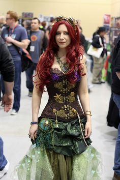 Steampunk Ariel! If I\'m not mistaken, that\'s the talented actress Jennifer Page of \