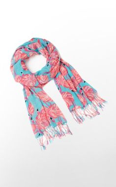 Endless opportunities for the Murfee. A great way to wear Lilly and print year round. This will be the softest scarf you will ever touch. It