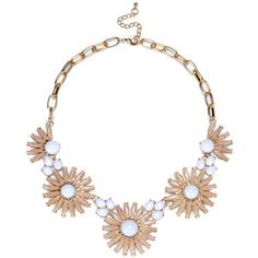 Sole Society Daisy Statement Necklace
