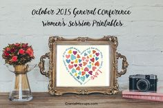 October 2015 General Conference Womens Session Prints