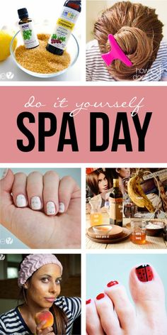 Have a DIY Spa Day – Beauty from Head to Toe! Recipes for hair and facial masks, foot scrubs, moisturizing treatments, nail techniques, and more!