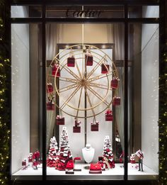 NYC is known for its spectacular holiday window displays. From Bloomingdale's new Who-filled windows and Macy's snowy adventure scenes, here are a few of our favorites for some decoration inspiration.