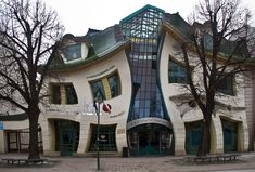 Top 10 Strangest Buildings in the World - The crooked house in Sopot, Poland. Description from pinterest.com. I searched for this on bing.com/images