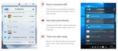 Die App TripMode zum Sparen von Datenvolumen (mobile Daten per 3G/4G/LTE) gibt es sowohl für den Mac (OS X) als auch für den PC (Windows).