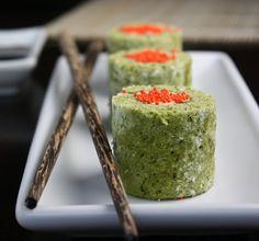Matcha Cake Sushi Rolls | Sprinkle Bakes