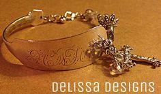 Delissa Designs spoon bracelet