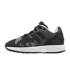 official photos 7cf84 02b27 Adidas ZX Flux EL Toddler I Black Black White, Kids Footwear, www