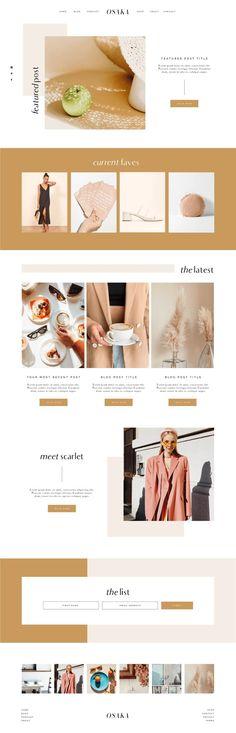A modern Showit & ProPhoto 7 website template, inspired by the minimal & modern . - Lily Rae A modern Showit & ProPhoto 7 website template, inspired by the minimal & modern . A modern Showit & Pro Web Design Trends, Design Websites, App Design, Layout Design, Blog Design, Design Styles, Minimal Web Design, Clean Web Design, Graphic Design