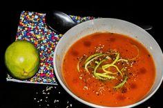 Paradajková polievka z Indie