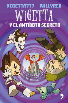 """""""Wigetta y el antídoto secreto"""", la tercera entrega de la saga protagonizada por los youtubers con más seguidores del universo online. http://www.casadellibro.com/libro-wigetta-y-el-antidoto-secreto/9788499985244/2793996"""