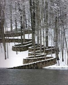 Andy Goldsworthy, Storm King Wall, 1998