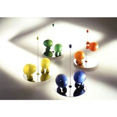 salt and pepper and awesome for Alessi by Stefano Giovannoni.  have wanted these for years.