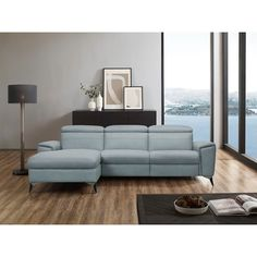 Places of Style Ecksofa »Theron«, elektrische Relaxfunktion, USB-Anschluss, manuelle Kopfteilverstellung kaufen | BAUR