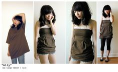 Mari Santos - Urban Renewal (great ideas for repurposing old baggy shirts)