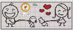 Cross Stitch Embroidery, Cross Stitch Patterns, Pixel Crochet Blanket, Cross Stitch Heart, Creative Embroidery, Christmas Cross, Handmade Wedding, Perler Beads, Diy And Crafts