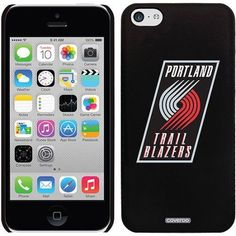 Portland Trailblazers Design on iPhone 5c Thinshield Snap-On Case by Coveroo, Black