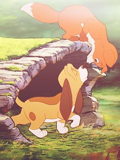 The fox and the hound...*cries*