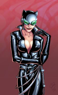 I did this as a request for a local comic shop. Art: Chris Summers (all me) Pose was referenced from photo. Catwoman owned by and property of DC Comics Meow