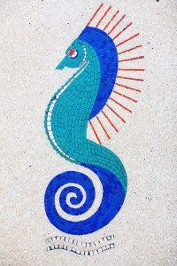 Marion Dorn's Seahorse Design