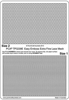 Free UK Delivery on all PCA Easy Embossing Templates - Backgrounds if you spend over at Perfect Parchment Craft. Arts And Crafts, Paper Crafts, Mesh Netting, Parchment Craft, Emboss, Embroidery Stitches, Craft Supplies, Stencils, Templates