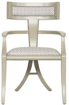 Vanguard Furniture: 9710A - Greek Peak (Arm Chair)