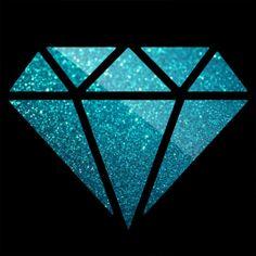 Imagen de diamond, galaxy, and pink