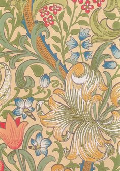 William Morris Fabrics and Wallpapers | Sanderson William Morris Wallpaper