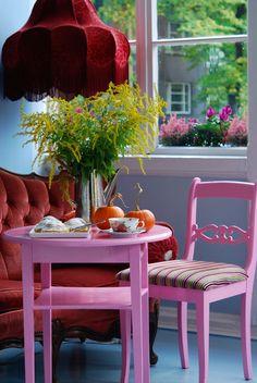 Lovely colours at cafe Supelsaksad