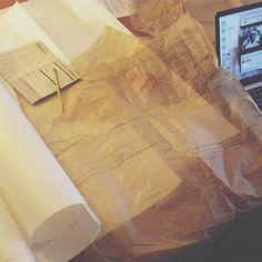Sundays are spent creating our samples! ❤️ #littleblackdress #edenandelle #ss15 #launching #soon