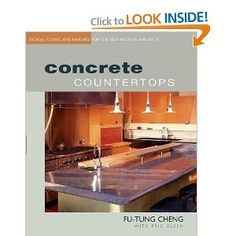 Highly rated concrete counter book for reference...