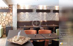MSD-Steinpaneel Lajas von StoneslikeStones in der Gastronomie - 00799