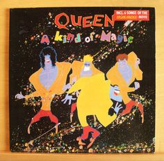 QUEEN - A Kind of Magic - Vinyl LP - One Vision - Who wants to live forever RARE