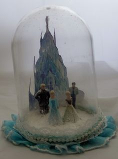 frozen snow globe sold