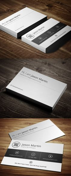 30 Modern Print-Ready Business Cards Design #businesscard #printready #premiumtemplates