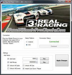 Real Racing 3 Hack
