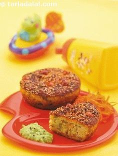 Protein Cup Cakes recipe | by Tarla Dalal | Tarladalal.com | #33089