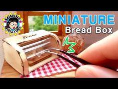 ▶ 미니어쳐 브레드박스 만들기 miniature - Bread Box - YouTube