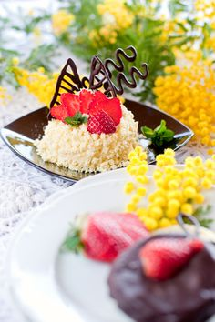 La ricetta per preparare la variante della più conosciuta e tradizionale torta mimosa per la festa della donna a base di cioccolato.