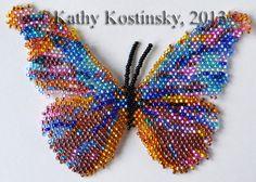 Альбом пользователя ЕкатеринаКостинская: Морфо Ретенор. Коллекция 63 бабочки мира