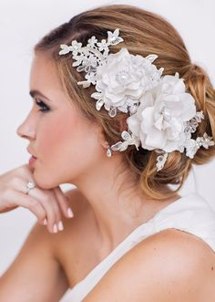 Elisa Bridal Headpiece