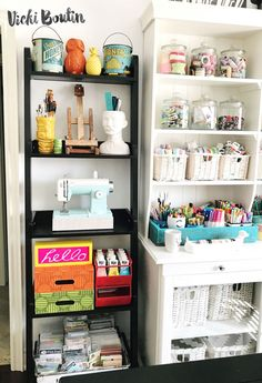 """So excited to finally reveal my newly """"refreshed"""" creating space! I seem to use all of these names for this area in my house interchangeably...Scraproom...Studio...Craft Room...Hoarder-Bomb-Exploded-In-Here...you know, it's called a lot of things. At the end of the day it..."""