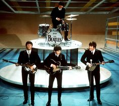 The Ed Sullivan Show ~ The Beatles made their American Debut on the Ed Sullivan Show in February 1964.