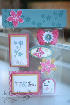 Stampin 'n Stuff: Card Candy Love this!!  Maybe for craft fairs??