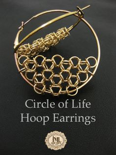 circle of life earring