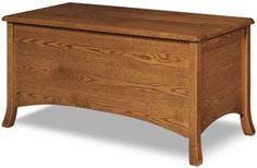 Amish Outlet Store : Carlisle Blanket Chest in Oak