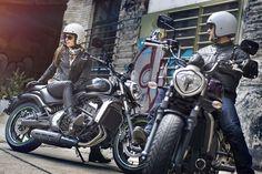 Top 10 - Motos para elas_KAWASAKI VULCAN S Disponível nos mercados europeu e norte-americano, a Vulcan S é feita sob a mesma base de outros modelos médios da Kawasaki, como a Ninja 650 e a naked ER-6n. Com pedaleiras reguláveis para oferecer uma boa ergonomia para as mulheres, a moto ainda traz o relativamente dócil propulsor de dois cilindros paralelos de 649 cm³. 9 3 15