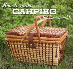 Camping tips  tricks