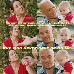 """The most important person in my universe"" - Vin Diesel Gallery (@vindieselgallery)"